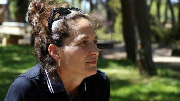Pla curt on es pot veure la directora artística de FiraTàrrega, Anna Giribet, entrevistada per l'ACN