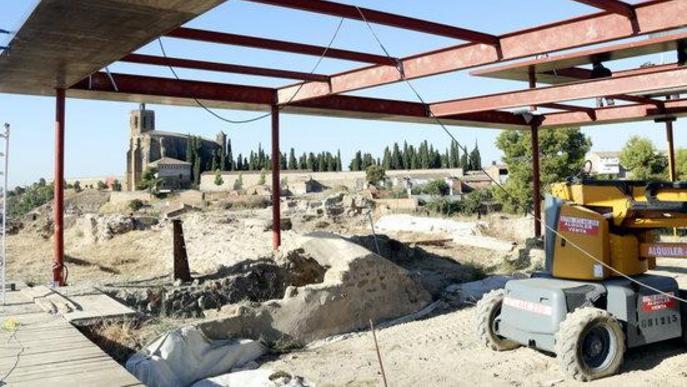 ⏯️ Recta final de les obres de restauració del Castell Formós de Balaguer