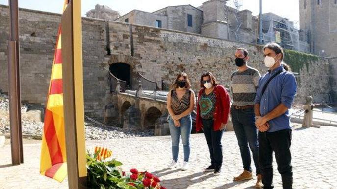 El Roser torna a ser el lloc escollit per la majoria de lleidatans per commemorar la Diada