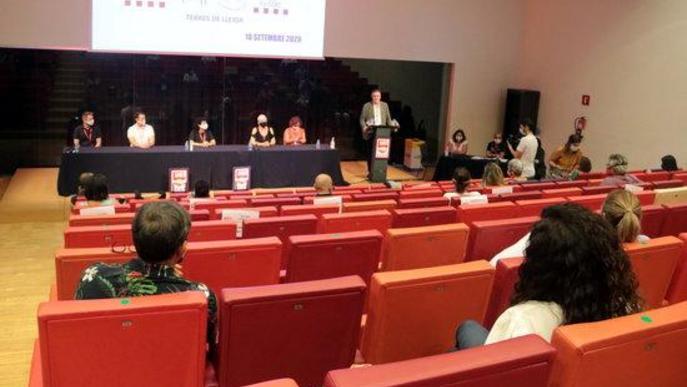 Pla obert del primer congrés de la FESMC de la UGT de les Terres de Lleida