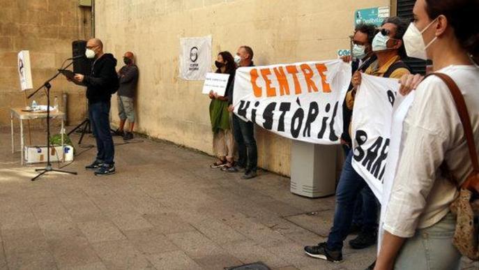 """⏯️ El Centre Històric de Lleida denuncia la """"inacció"""" de la Paeria davant els """"problemes de convivència"""" del barri"""