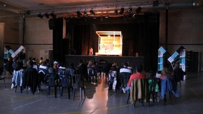 ⏯️ La Baldufa torna a escena a Alcoletge després de rebre el Premi Nacional d'Arts Escèniques