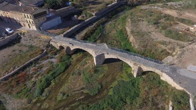 ⏯️ El rastre de la riuada a la Conca de Barberà i les Garrigues, un any després a vista de dron