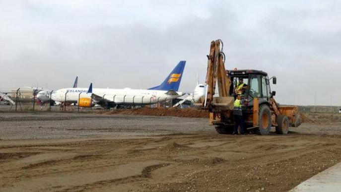 La Covid-19 deixa a Alguaire sense vols d'esquiadors aquest hivern