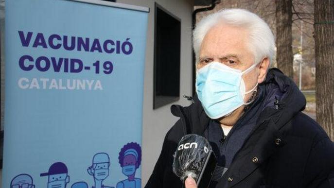 ⏯️ La campanya de vacunació de la covid-19 es reprèn al Pirineu