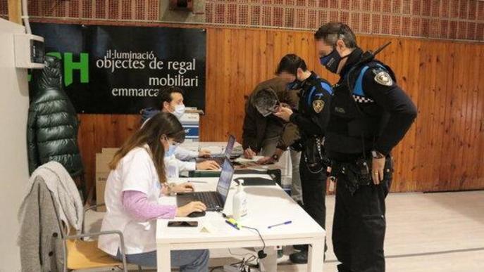 ⏯️ La Guàrdia Urbana de Lleida, primera policia local de Catalunya en vacunar-se