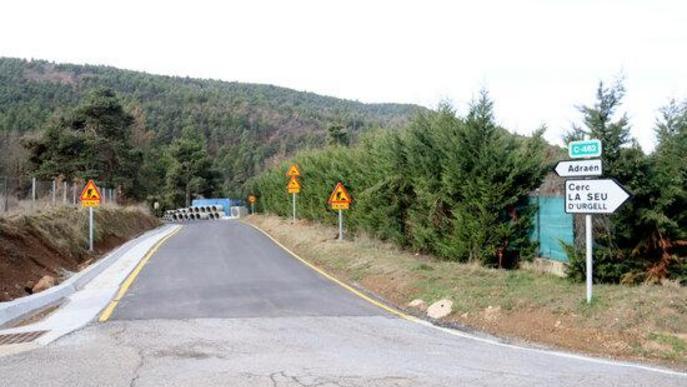 Territori millorarà les comunicacions terrestres amb el Berguedà i el Solsonès a través de la vall de la Vansa i Tuixent