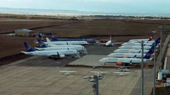 ⏯️ Rècord d'operacions diàries a l'aeroport de Lleida-Alguaire gràcies a la formació de pilots