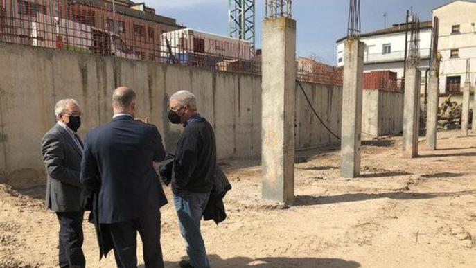 Inici de les obres de construcció de l'Arxiu Comarcal de les Garrigues