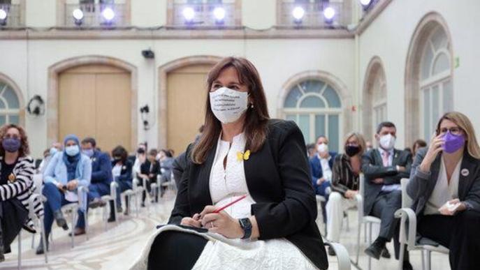 Borràs és escollida presidenta del Parlament i Juvillà ocuparà una secretaria