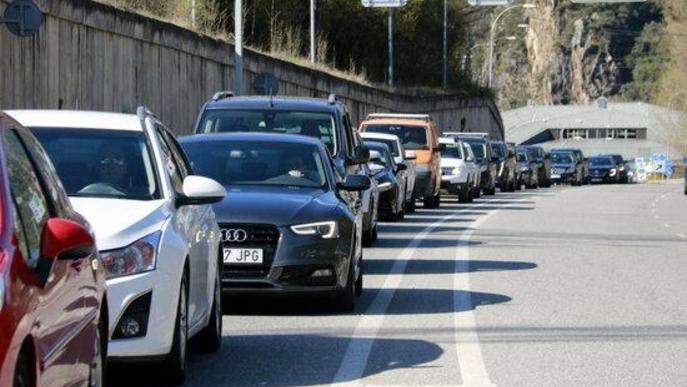 ⏯️ Retencions intermitents a la frontera entre Catalunya i Andorra