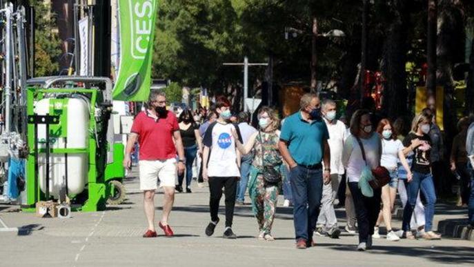 La 148a Fira de Sant Josep tanca amb més 74.000 visitants