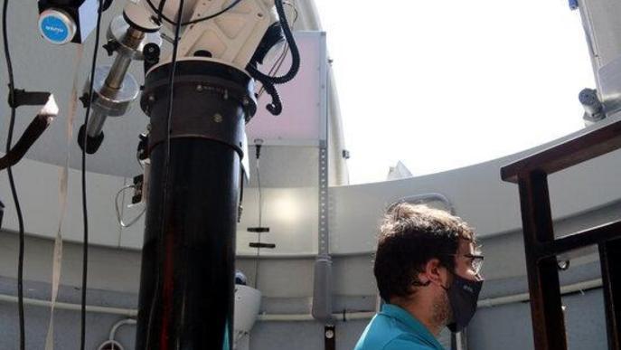 L'eclipsi parcial ha tapat el 5% de la superfície del Sol a Lleida durant més d'una hora