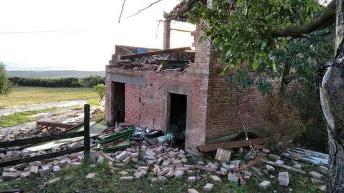 La tempesta de dijous deixa danys en cultius de Lleida, el Camp de Tarragona i el Berguedà
