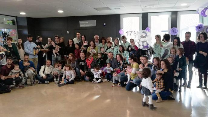 L'Arnau de Vilanova celebra el Dia Mundial de la Prematuritat amb les famílies