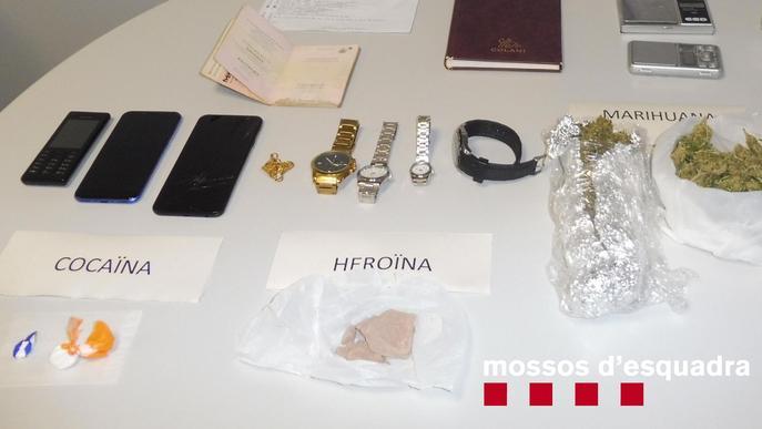 A presó per vendre drogues des del seu domicili a Guissona