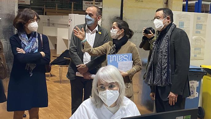 ⏯️ El pavelló Onze de Setembre de Lleida, centre de vacunació contra la covid-19