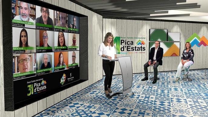 ⏯️ La Diputació de Lleida lliura els guardons del Premi Pica d'Estats en un acte virtual