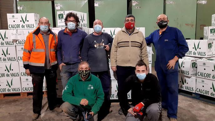 Calçots de Valls per a les residències de Lleida i Tarragona