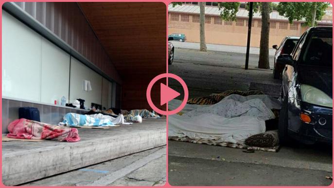⏯️ Més de 200 temporers estan dormint als carrers de Lleida