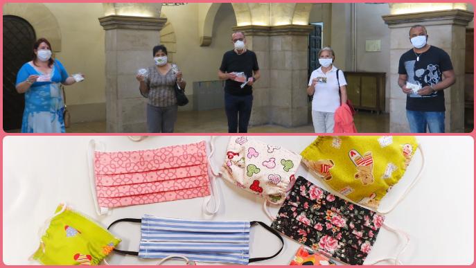 La Paeria reparteix més de 1.400 mascaretes infantils de diferents col·lectius i particulars