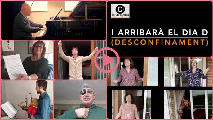 """⏯️ """"I arribarà el dia D (desconfinament)"""" - Cor de Cambra de l'Auditori Enric Granados"""