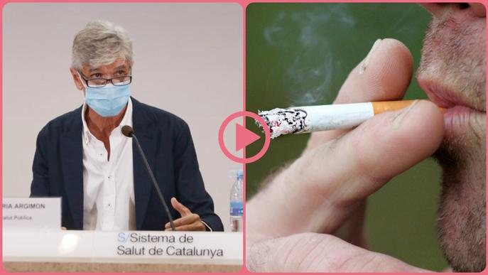 ⏯️ El Govern estudia prohibir fumar al carrer i a les terrasses