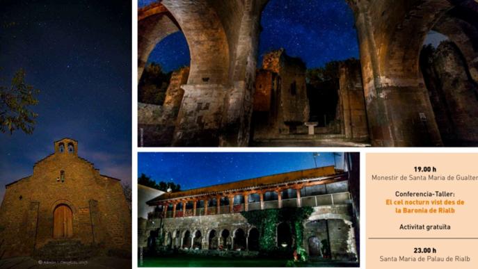 La Baronia de Rialb programa activitats astronòmiques amb el festival Romànic i Estels