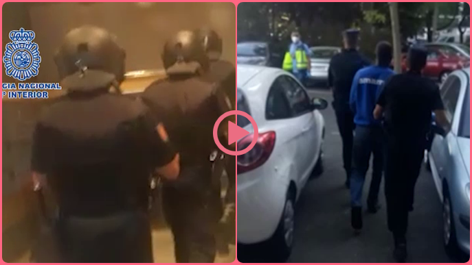 ⏯️ Detingut a Lleida un dels líders d'una banda que captaven immigrants irregulars
