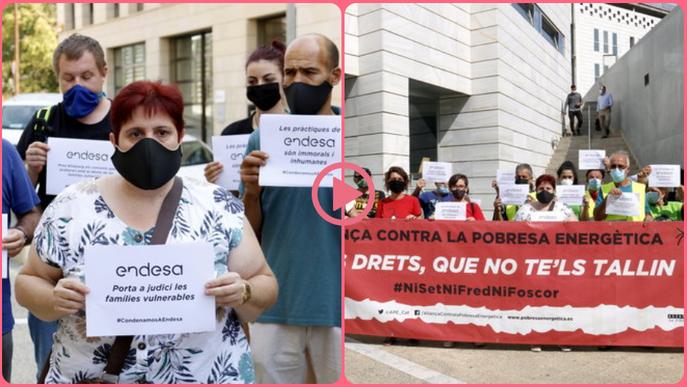 ⏯️ Lleida acull el primer judici a Catalunya a una família vulnerable per l'impagament de factures de la llum