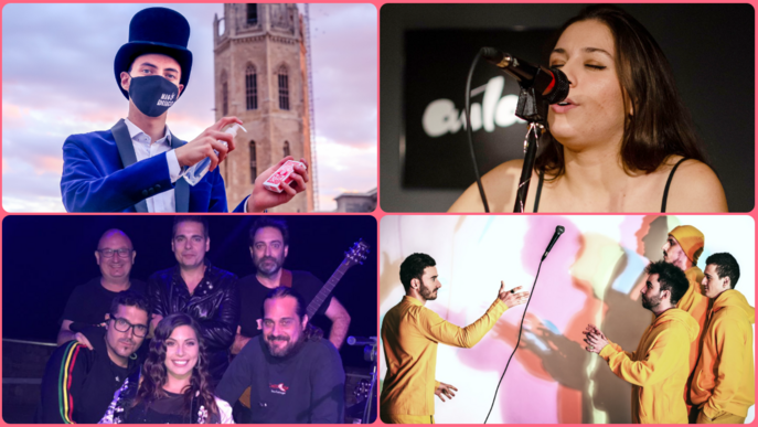 Música i màgia al Centre Històric de Lleida