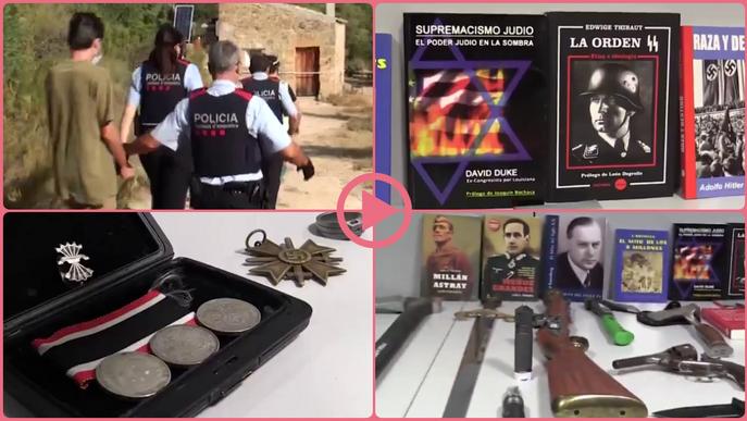 ⏯️ Dos detinguts a les Garrigues i a Alacant per enaltiment del terrorisme racista
