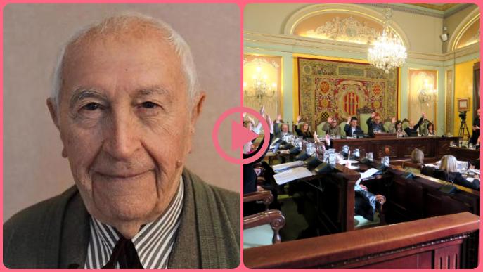 ⏯️ #DIRECTE | Josep Vallverdú és nomenat fill predilecte de Lleida