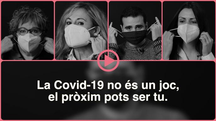 ⏯️ Agramunt consciència sobre el coronavirus amb el testimoni de veïns que han patit la malaltia