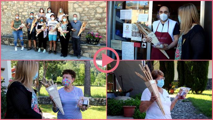 ⏯️ Vilaller regala un lot a cada família per celebrar la revetlla des de casa