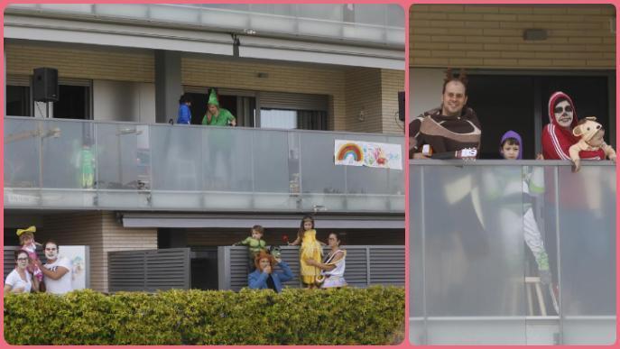 Veïns de la Copa d'Or organitzen un concurs de disfresses solidari contra el coronavirus