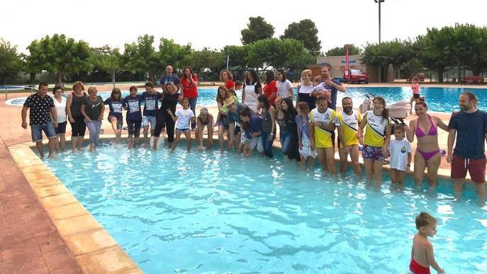 Un 'Mulla't' de rècord amb 650 piscines solidàries per l'Esclerosi Múltiple