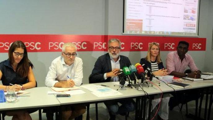 El PSC qüestiona els Consells de Zona que promou el govern de la Paeria