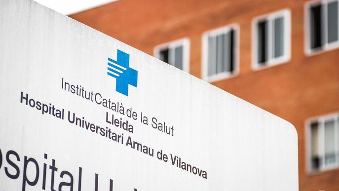 Puja el nombre d'ingressats per covid-19 als hospitals de Ponent