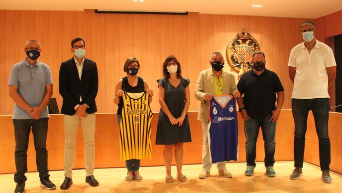 Acord de col·laboració entre el CB Pardinyes i el Club Natació Tàrrega