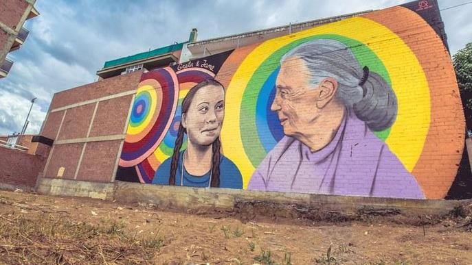 Oriol Arumí guanya el premi del públic del 3r Torrefarrera Street Art Festival