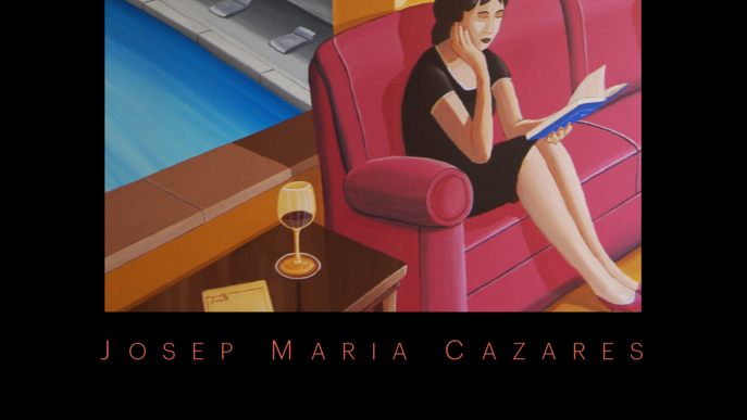'Nocturn' de Josep Maria Cazares a la galeria d'art Espai Cavallers de Lleida