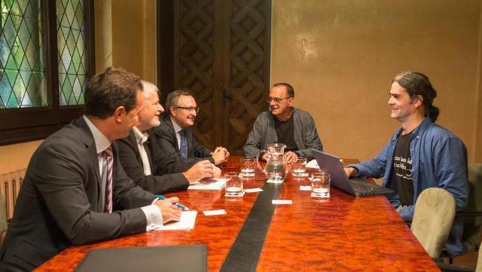 Col·laboració entre la Paeria i el Banc Sabadell per aconseguir cessions d'habitatges per a ús social