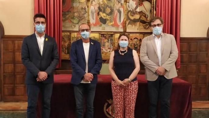 Paeria signa amb la Generalitat un conveni per col·laborar en la ITE