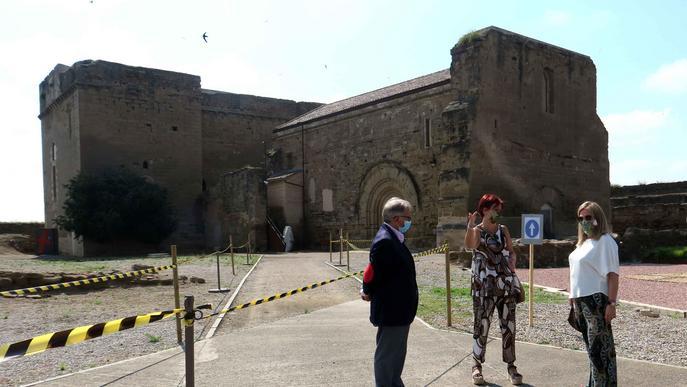 Més de mil persones visiten el Castell dels Templers en els darrers tres mesos, tot i romandre confinada la ciutat durant 15 dies