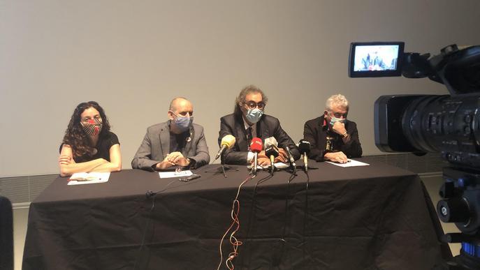 ⏯️ La col·lecció d'art de Tatxo Benet per la llibertat de creació i pensament arriba a Lleida