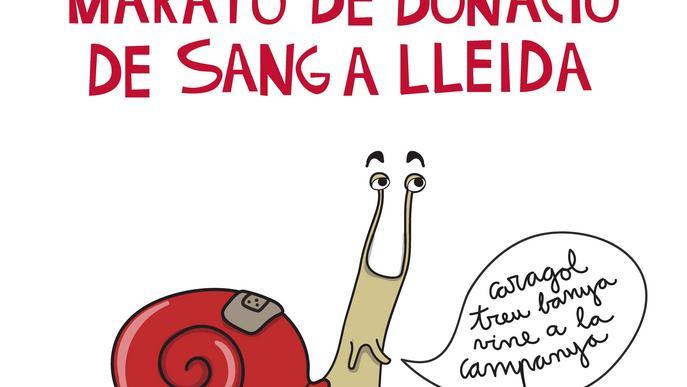 La Llotja de Lleida acull una Marató de Donants de Sang