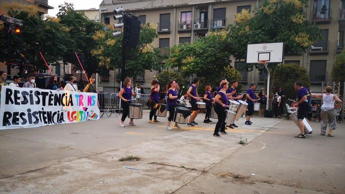La manifestació per l'alliberament sexual i de gènere recorre els carrers de Lleida