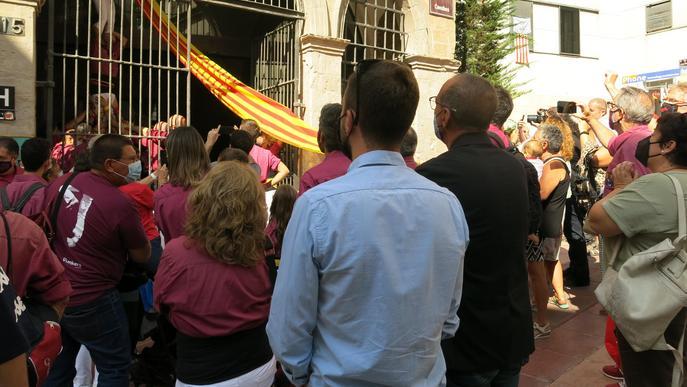 El Roser concentra l'ofrena floral amb motiu de la Diada Nacional de Catalunya
