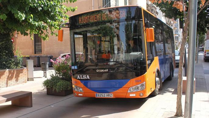Tàrrega reprèn aquest dilluns el servei del bus urbà municipal
